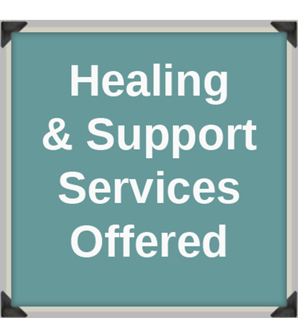 Support services offered.